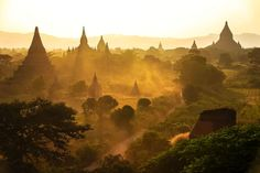 The 16 Best Places In The World To Watch The Sunset/ Bagan, Burma