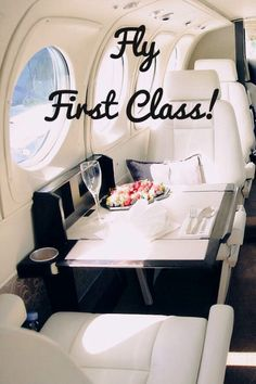 Bucket list ~ I have looked into flying first class and it's SO expensive. I hope I can save enough money so I can rides first class some day. Flying First Class, Bucket List Before I Die, Stuff To Do, Cool Stuff, Just Dream, Dream Life, Life List, Summer Bucket Lists, So Little Time