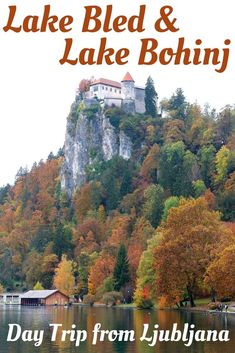 Ljubljana to Lake Bled is a popular day trip. The top things to do in Lake Bled is visiting the island church and the Bled Castle. One can also visit another Lake Bohinj and the beautiful Vintgar Gorge from Lake Bled.