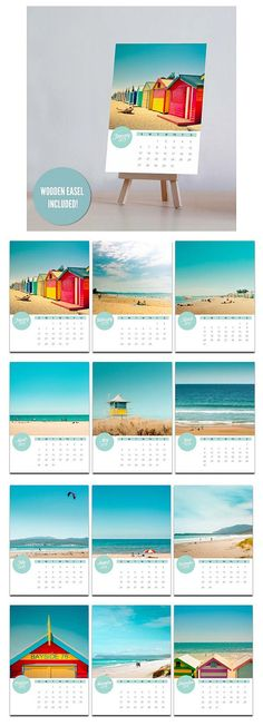 2013 photo calendar  5x7 nautical calendar mini by mylittlepixels