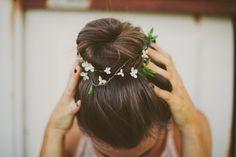 Sincerely, Kinsey: Floral Bun Wrap Inspiration
