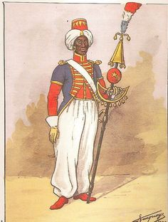 French; 18th Line Infantry, Musician with Chapeau Chinois, 1805