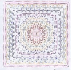 Patterns and motifs: Crocheted motif no. 956
