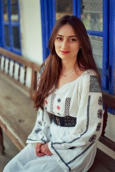 """Weeks On Film"""" is a 2015 film photography project that will be finalized with a book containing 2 of the best photos for each week. Romania People, Film Photography Project, Romanian Girls, People Of The World, Ethnic Fashion, Traditional Dresses, Blouse, Folk Art, Beauty"""