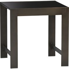Vesper Side Table in Side, Coffee Tables   Crate and Barrel