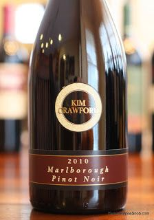 Kim Crawford Marlborough Pinot Noir 2010 - An Earthy, Spicy Pinot Noir From New Zealand. Pinot Noir under $20 is a tough nut to crack, but this is a fine example. Reviews of the best inexpensive wines.