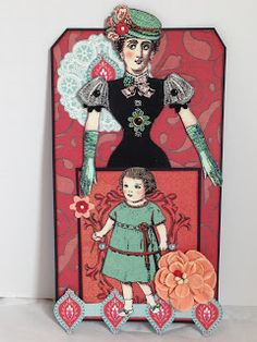 Lady Edith Crawley and Marigold By Michelle Bodensteiner