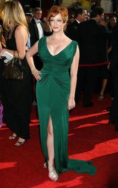 Christina Hendricks Photos - The 60th Primetime Emmy Awards - Red Carpet Arrivals - Zimbio