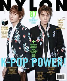 Donghae and Eunhyuk grace the cover of 'Nylon Korea' with their good looks | allkpop