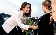 Princess Marie opened the Wadden Sea Festival as their patron at the Lighthouse Blavandshuk