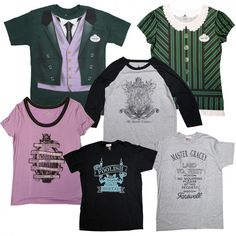 Haunted Mansion New Shirts; Look for these items in select locations at Disneyland and Walt Disney World Resorts in the coming months. Select items will also be carried on our Disney Parks online store. Toddler Halloween Shirts, Disney Halloween, Disney Rides, Disney Parks, Walt Disney, Disney Gift, Disney Shirts For Family, Disney Merchandise, Disney Outfits