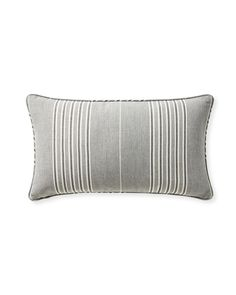 Plush velvet on one side and classic stripes on the reverse give this pillow double the styling opportunity. Woven from colorfast, weather-resistant Perennials® fabric, it stands up to sun and rain with style, and layers with amazing versatility. Pillow Inserts, Pillow Covers, Perennials Fabric, Plush, Stripes, Throw Pillows, Classic, Lily, Style