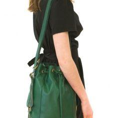 sac seau vert boutei