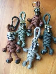 Image result for paracord with skull beads