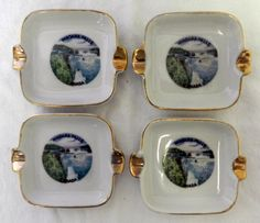 Niagara Falls Ashtrays (made in Japan) - 1980