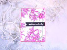 Geburtstagskarte Aquarell Genieß deinen besonderen Tag - Stampin'Up! mit stempelherz