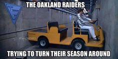 Raiders trying to turn the season around lol