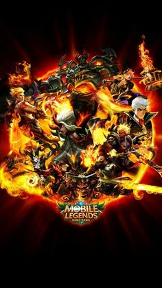 Team Fire Mobile Legends by xuneo on DeviantArt - Best of Wallpapers for Andriod and ios Wallpaper Mobile Legends, Mobile Wallpaper Android, Hero Wallpaper, Naruto Wallpaper, Markiplier Wallpaper, Apple Wallpaper, Bruno Mobile Legends, Miya Mobile Legends, Hp Mobile