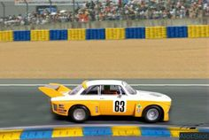 "Alfa Romeo GTA Silhouette in diorama ""Track Curve_Le Mans"". 1/32 scale  #slot #slotcar #scalemodel #scalextric #dtm #wec #wtcc #diorama #scenary #base #curva #circuito #track #dreamcar #peana #lemans #lemans24h #24h #hand #mano #alfaromeo #classiccar #alfa Le Mans, Diorama, Alfa Romeo Gta, Man O, Slot Cars, Scale Models, Dream Cars, Classic Cars, Track"