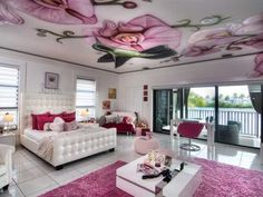 Luxury Teenage Girl Bedroom Design
