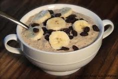 Oatmeal Porridge in the morning, essential energy and fuel to get you through your day.