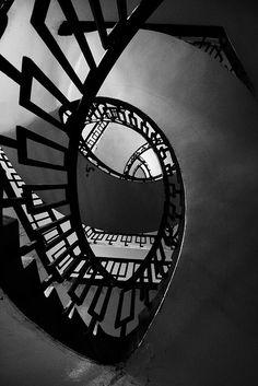 Black & White #architecture  #stairway