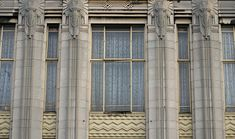Elephants on Streatham High Road Local Color, High Road, Art Deco Pattern, Z Arts, Art Deco Fashion, London, Department Store, Facades, Architecture