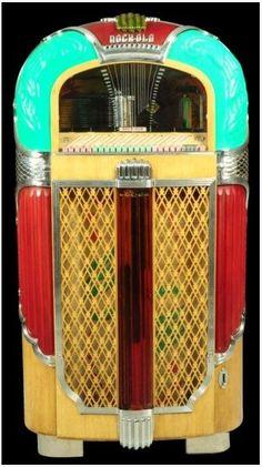 Early Rockola jukebox