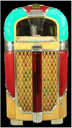 Early Rockola jukebox