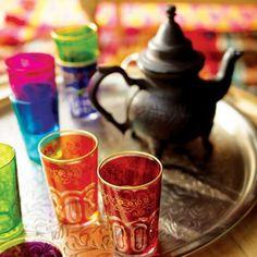 Moroccan Tea Glasses, Set of 6 | World Market