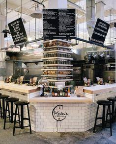 The Oyster Gourmet and Wexler's Deli in Los Angeles #restaurantdesign