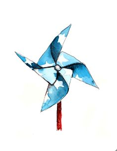 pinwheel from PAPERFASHION