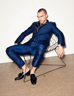 Nicholas Hoult by Mark Cant