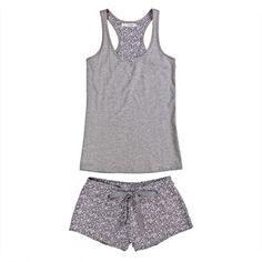 Womensecret. Pijamas Pijama corto de algodón Cute Sleepwear, Girls Sleepwear, Sleepwear & Loungewear, Nightwear, Cute Pajama Sets, Cute Pjs, Cute Pajamas, Lazy Day Outfits, Casual Outfits
