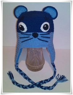 Fantastic Hat Mouse Preemie Knitted Hat Gift for Newborns