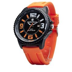 Smith & Wesson SWW-LW6083 EGO Series Watch with Silicon Strap Orange #SmithWesson