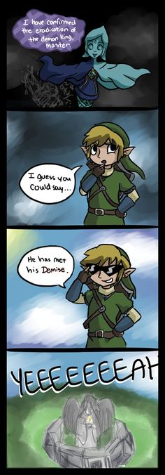 The Legend of Zelda: Skyward Sword - Link Yes. This is the best.