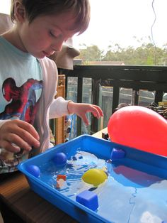 """Irresistible Ideas for play based learning » Blog Archive » floating, sinking and predicting"""