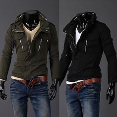 Premium Slim Fit Men Zip Jacket