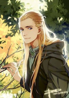 I usually really don't like Manga/Anime art of any kind especially of characters I like but this looks really great. Even his expression is perfect! And I LUV how this is Legolas! My fav character from Lord of the Rings (and Hobbit) in anime version! Manga Anime, Anime Yugioh, Anime Body, Anime Pokemon, Got Anime, Manga Art, Anime Art, Anime Quotes Tumblr, Anime Plus