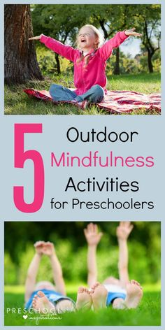Do your kids have a hard time adjusting after school? Try these 5 Outdoor Mindfulness Activities for Preschoolers - fun and relaxing after-school activities for kids. Forest School Activities, Nature Activities, Outdoor Activities For Kids, Art Therapy Activities, Outdoor Learning, Toddler Activities, Learning Activities, Mindful Activities For Kids, Nature Based Preschool