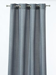 """Jaclyn Smith Today 52"""" x 84"""" hopsack panel in slate blue, $22, kmart.com"""