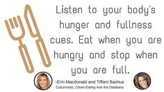 CE Tip 18: Listen to Your Body #EatCleanIn2016