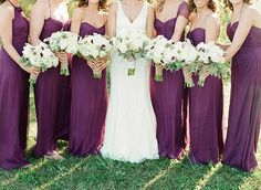 Bridesmaid dresses were originally worn to confuse evil spirits from cursing the bride on her wedding day. Description from dressesphotos.com. I searched for this on bing.com/images