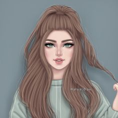 Ask me a question # answer # girly_m # pencils # sketches # meltemyılmaz # ensevdigim # memorable - Walpapers Pic Natural Beautiful Girl Drawing, Cute Girl Drawing, Beautiful Anime Girl, Beautiful Drawings, Girly M, Best Friend Drawings, Girly Drawings, Pretty Drawings Of Girls, Cute Cartoon Girl