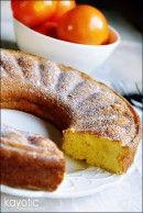 Tangarine bundt cake