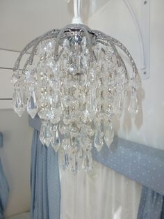 Pretty chandler in the trailer. How To Make A Chandelier, Diy Chandelier, Camping Glamping, Camping Hacks, Camping Ideas, Vintage Trailers, Vintage Campers, Boler Trailer, Survival Backpack