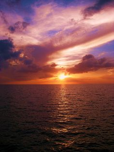 Sunset in Florida by Katie McMillen, via Flickr