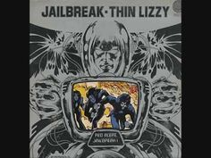 Thin Lizzy - Jailbreak vinyl LP on Vertigo 1976 used Greatest Album Covers, Rock Album Covers, Classic Album Covers, Thin Lizzy, Top 100 Albums, Great Albums, Music Stuff, My Music, Rock Music