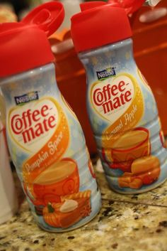 party love ♥: serve hot chocolate with seasonal coffee-mate creamers